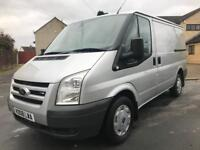 SOLD!! Only 80K Miles, NO VAT 08 (08) Ford Transit T280s 110BHP LX SWB, 2.2TDCI Brand New Ply-Lining