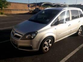 Vauxhall zafira 2007 1.6 petrol
