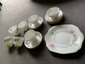 Vintage adderly bone China tea set