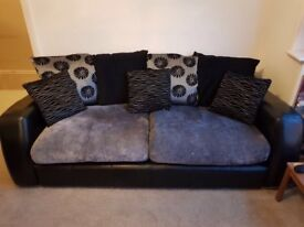 3 seater and 2 seater DFS sofas for sale