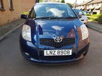 2008 Toyota Yaris 1.3 VVT-i T3 5dr Manual @07445775115