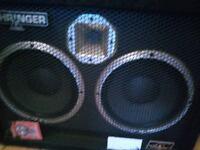 """Behringer 2x10"""" Ultrabass BB210 Bass Cabinet."""
