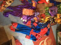 Costumes fancy dress, super heros, halloween