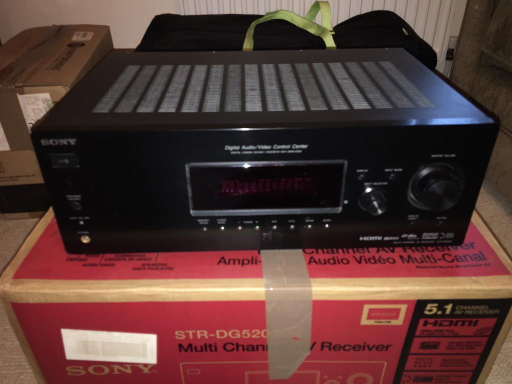 Sony STR-DG520 5 1 Surround Sound Amplifier | in Melksham