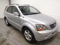 KIA SORENTO DIESEL 4X4 , 2007/57 REG , ONLY 62000 MILES + HISTORY , YEARS MOT , FINANCE , WARRANTY