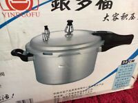 New Unused - Pressure Cooker - Commercial Size - YinDouFu - 30cm - Boxed