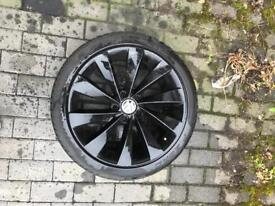 GENUINE VOLKSWAGEN INTERLAGO TURBINE ALLOY WHEEL SPARES