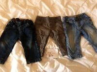Boys trousers 6-9 months