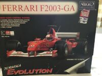 Nikko Ferrari F2003-GA remote control car.