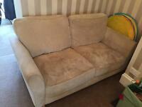 Cream/Mink Sofa