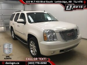 Used 2013 GMC Yukon AWD Denali-DVD,Navigation,Heated/Cooled Leat