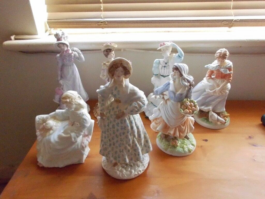 colection of china figurines