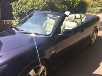 Perfect condition Saab 9-3, 1 owner from new, 1.9 TTiD, leather heated seats, convertible
