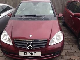 2009 Mercedes A class very low mileage
