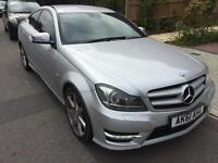 Mercedes c class coupe 2.2 AMG hpi clear