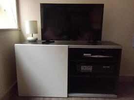 Tv stand and DVD storage unit