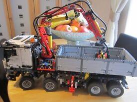 lego technic mercedes truck