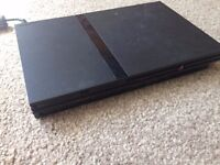 Slim Black PS2 For Sale with Lots of Accompanying Games