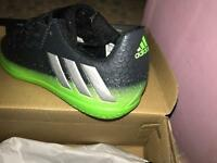 Adidas kids football trainers size 12. Brand new RRP £47.99