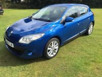 Renault Megane 1.6,2011,55,283 Miles,Full History,Aircon,Alloys,CD,Auto lights,2 keys,Very clean