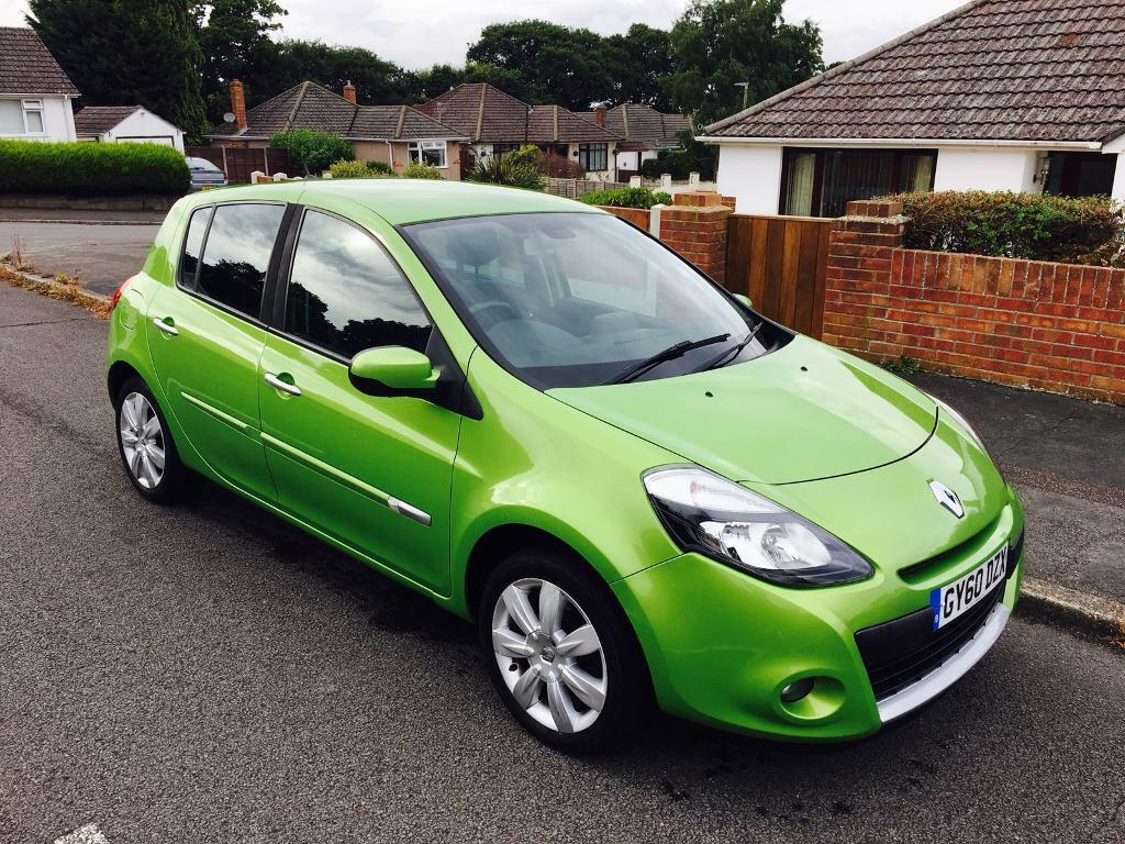 2010 RENAULT CLIO 1.2 TOMTOM LIMITED EDITION FACELIFT 5 DOOR 67,000 MILES READY TO DRIVE AWAY