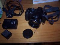 Panasonic Lumix FZ28 Digital camera + 2gb card and spare battery