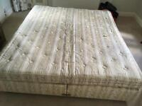 DOUBLE BED SUPERKING 7' Long . Needs to go, make me an offer!