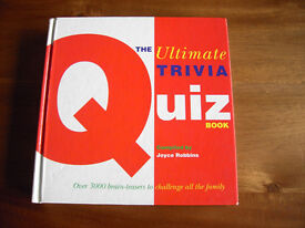 BRAND NEW QUIZ BOOK COMPILED by JOYCE ROBBINS, 3,000 QUESTIONS and ANSWERS PLUS 3 PAPERBACKS