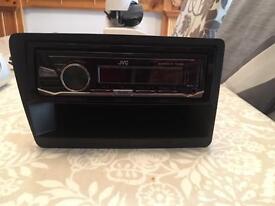 Honda Civic ep3 dash facia and jvc radio