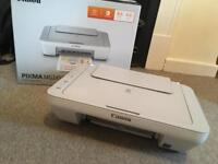 FREE scanner and printer CANON. Without Ink
