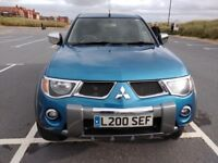 Mitsubishi L200 Diamond, with leather, air con etc, Load liner, rear canopy Low Mileage