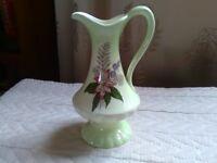 Crown Devon jug & lustre ware milk jug