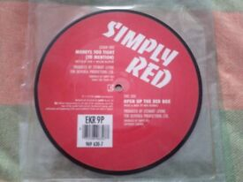 Simply Red Picture Vinyl 7""