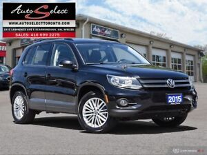 2015 Volkswagen Tiguan AWD 4MOTION ONLY 79K! **BACK-UP CAMERA...