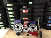 Trailer Wheels Tyres Rims Parts - Replacements For Ifor Williams Hudson Nugent Dale Kane Brian James