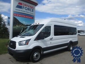 "2016 Ford Transit T-350 XL EL 148"" WB High Roof DRW 15 Passenger"