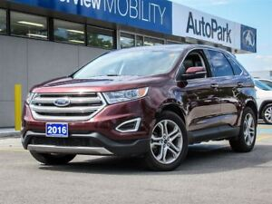2016 Ford Edge Titanium TITANIUM | AWD | Leather | Navi | Pan...