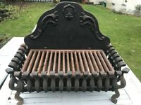 Cast Iron Basket and Grate