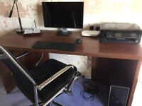 M & S computer desk / table also have matching bookcase, see other listing