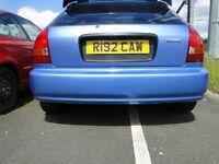 Honda Civic Ek9 Type R rear bumper 96-2000 ej9 b16 d16
