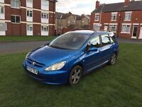 2004 Peugeot 307 hdi 110 bhp £350 drives perfect great on diesel air con