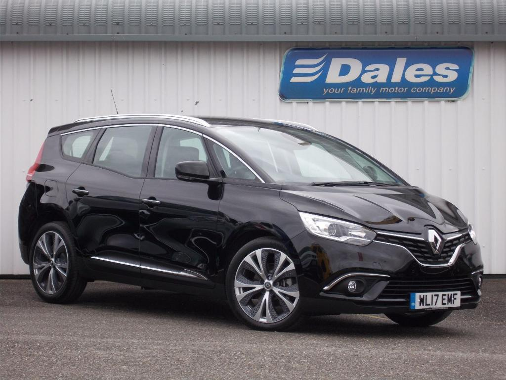 renault grand scenic 1 5 dci dynamique nav 5dr auto estate diamond black 2017 in newquay. Black Bedroom Furniture Sets. Home Design Ideas