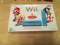 NINTENDO Wii MARIO & SONIC LONDON OLYMPIC GAMES LIMITED EDITION. BOXED.