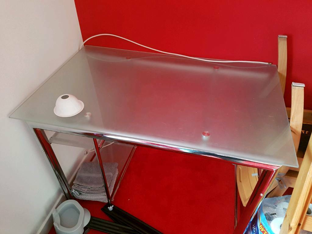 Glass desk/ Table