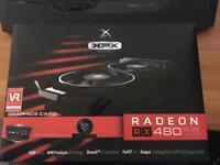 XFX Radeon RX 480 8GB Black edition Brand New sealed