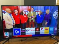 """Samsung 40"""" Smart WiFi Led tv with Freeview hdmi excellent condition youtube Netflix"""