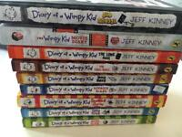 Books - diary of wimpy kid