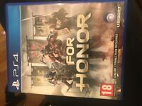 For honor excellent condition ps4