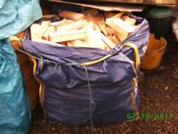 FIREWOOD, DUMPY BAG FULL OF KILN DRIED OFFCUTS, (otherwise untreated) just clean dry wood