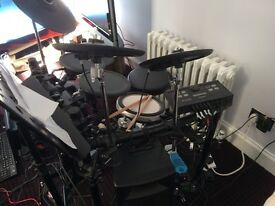 Yamaha DTX500 Electronic Drum Kit - Sale or trade for acoustic kit